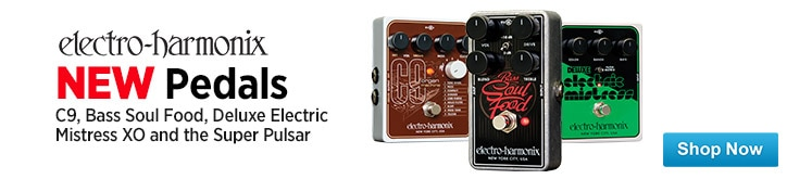 MF MD DT New Pedals from ElectroHarmonix 02-13-15