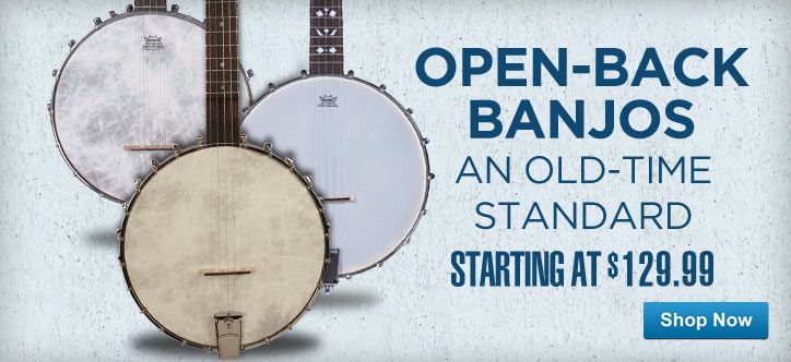 MF MD DT Open Back Banjos 04-30-13