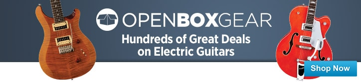 MF MD DT Open Box Electric Guitars 03-13-15
