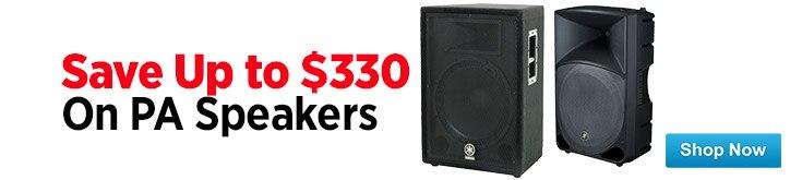 MF MD DT PA Speaker Sale 07-25-14