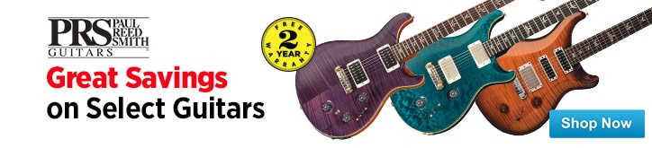 MF MD DT PRS GuitarsSelect models on sale  04-10-15