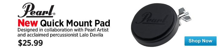 MF MD DT Pearl Quick Mount Lalo Rehearsal Pad 07-25-14