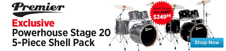 MF MD DT Powerhouse Stage 20 5Piece Shell Pack 08-22-14