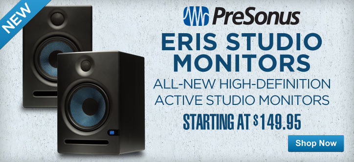 MF MD DT Presonus Eris Studio Monitors 04-30-13