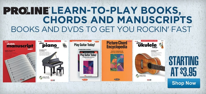 MF MD DT Proline Learn to Play books, chords and manuscripts 05-15-13