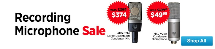 MF MD DT Recording Microphone Sale 09-05-14