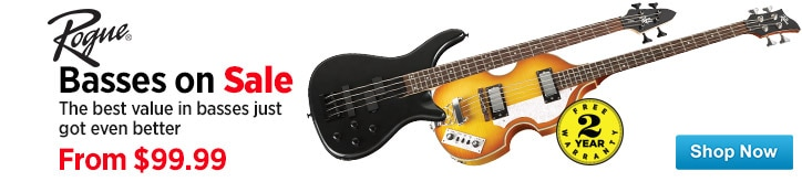 MF MD DT Rogue Basses on Sale 01-09-15