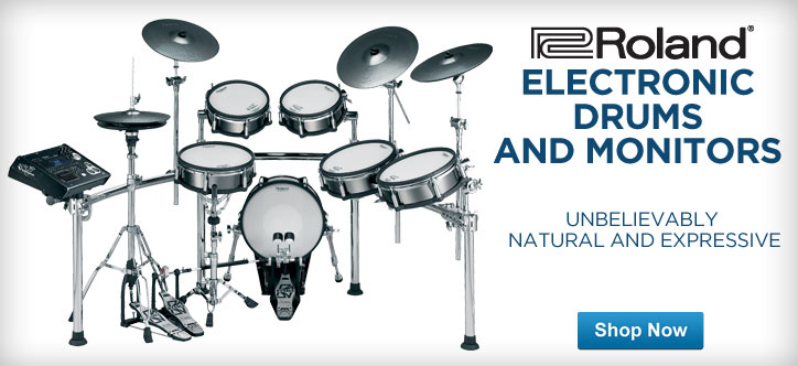MF MD DT Roland Electronic Drums and Monitors 05-15-13