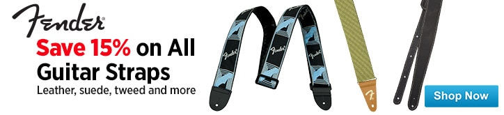 MF MD DT Save 15 on all Fender Guitar Straps 01-23-15