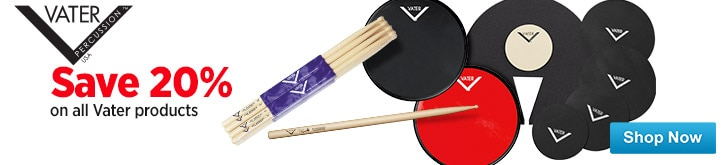MF MD DT Save 20 on Vater SticksAccessories 09-11-14