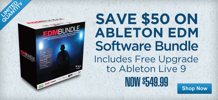 MF MD DT Save $50 on Ableton EDM software bundle 05-01-13
