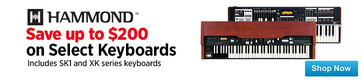 MF MD DT Save up to 200 on Hammond Portable Keyboards 12-19-14