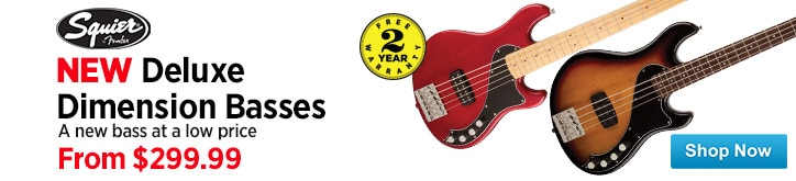 MF MD DT Squier Deluxe Dimension Basses 03-31-15