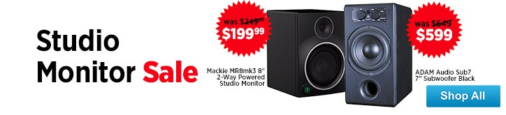 MF MD DT Studio Monitor Sale 08-29-14