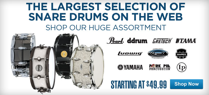 MF MD DT The Largest Selection of Snare Drums on the Web 05-15-13