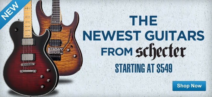MF MD DT The Newest Guitars From Schecter 04-30-13