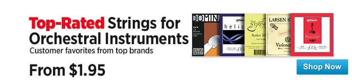 MF MD DT Top Rated Strings For Orchestral Instruments 07-25-14