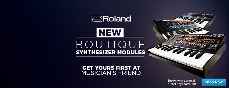 Roland Boutique Synthesizer Modules