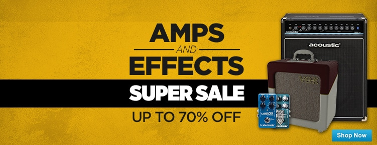 Amps and Effects Sale