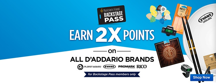 2x BSP Points on DAdaddario brands