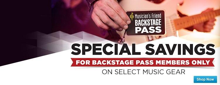 Backstage Pass Special Savings