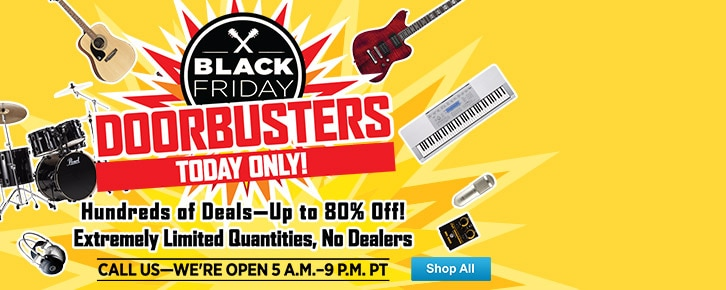 Black FridayToday Only Doorbusters830PM
