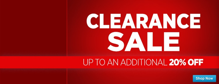 Clearance Sale ends 104