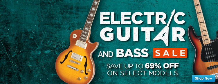 Electric GuitarBass Sale