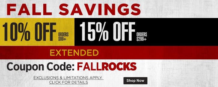 Fall Rocks Coupon EXTENDED