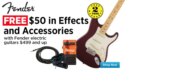 Free Fender Effects and Accessories