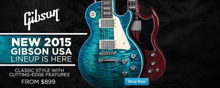 Gibson USA Guitars and Basses 2015