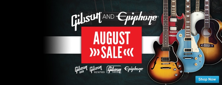 Gibson and Epiphone August Sale ends 831