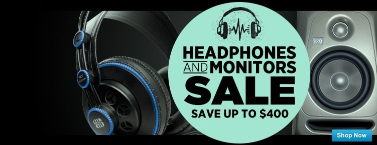 Headphones and Monitor Sale