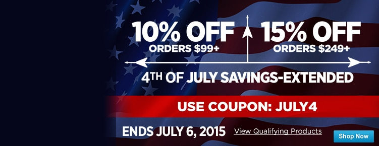 July 4th CouponExtended