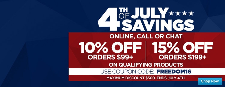 July 4th Coupon