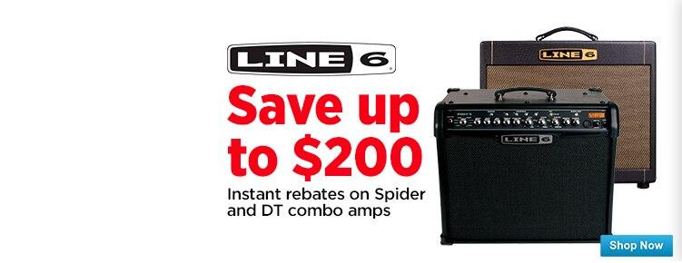 Line 6 Spider and DT Instant Rebates