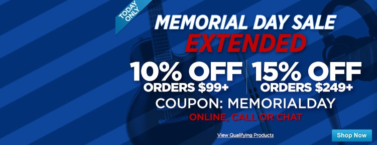 Memorial Day Coupons Extended