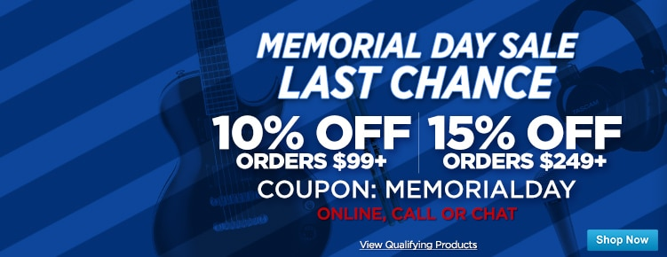 Memorial Day CouponsLast Chance