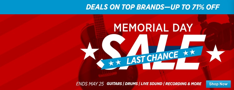 Memorial Day DoorbustersLast Chance