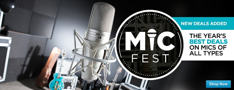 Mic FestNew Deals Added