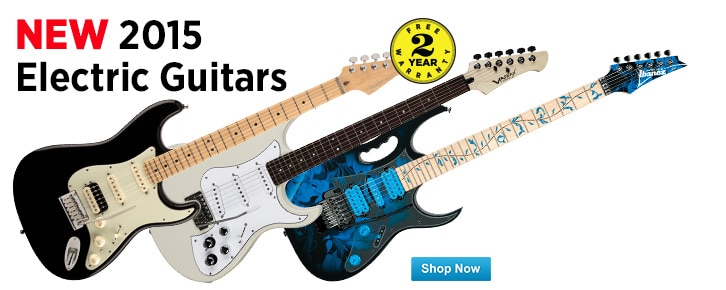 New 2015 Electric Guitars