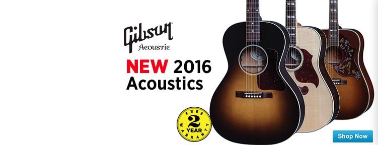 New 2016 Gibson Acoustics