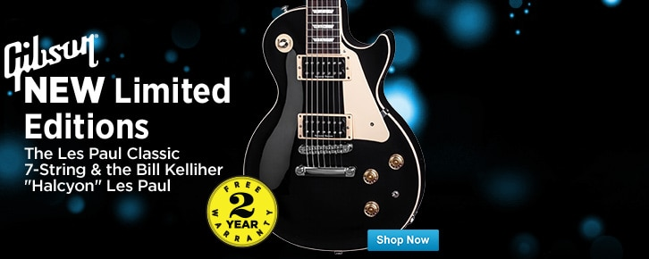 New Gibson Limited Editions