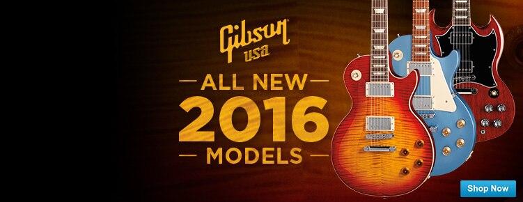 New Gibson USA 2016