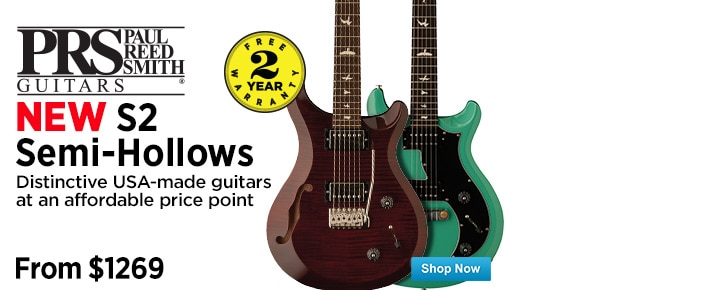 New PRS S2 SemiHollows