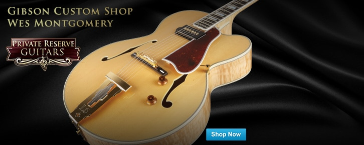PRG Feature Gibson Wes Montgomery Custoom Shop