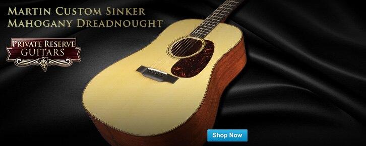 PRG Featured GuitarMartin Custom Sinker