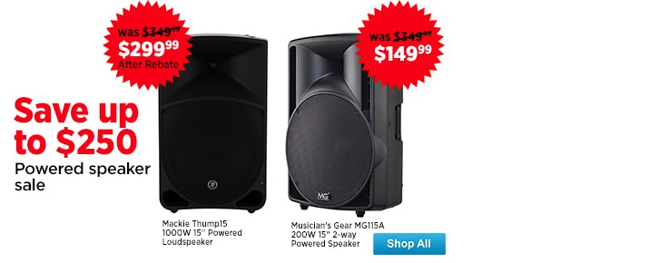 Powered Speaker Sale