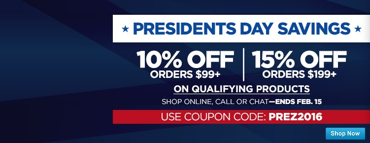 Presidents Day Coupon