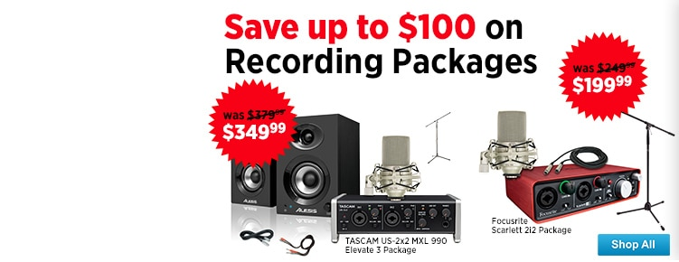 Recording Package Savings